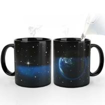 星空地球感溫變色杯